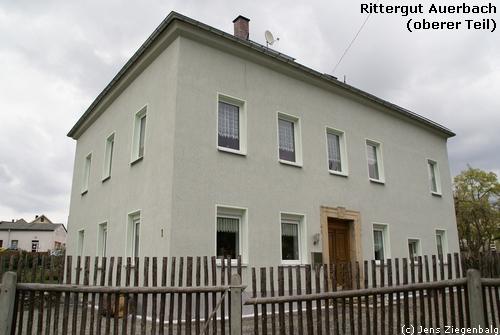 Auerbach: Rittergut Auerbach (Oberer Teil)