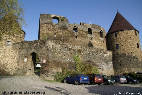 Elsterberg: Burgruine Elsterberg