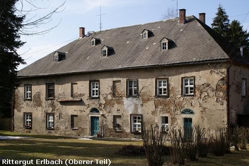 Markneukirchen: Rittergut Erlbach Oberer Teil