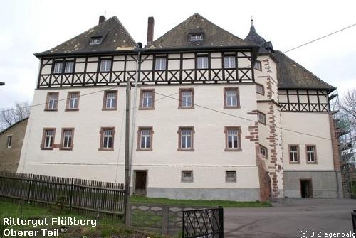 Frohburg: Rittergut Flößberg Oberer Teil