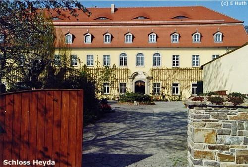 Lossatal: Schloss Heyda