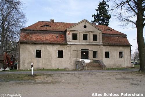 Quitzdorf, Altes Schloss Petershain