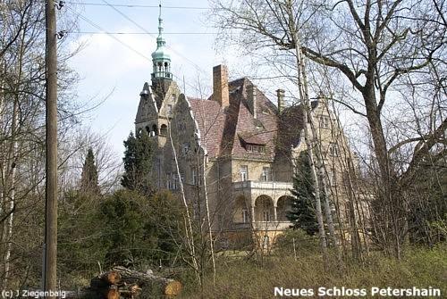 Quitzdorf, Neues Schloss Petershain