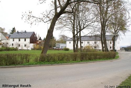 Weischlitz: Rittergut Reuth