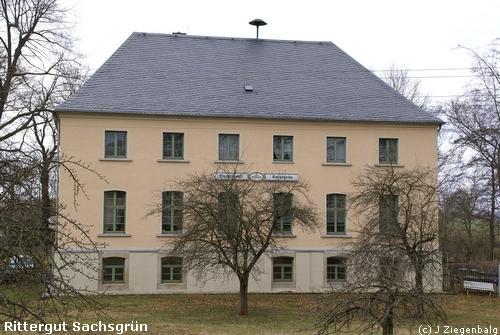 Triebel: Rittergut Sachsgrün