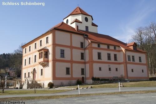 Bad Brambach: Burg und Schloss Schönberg