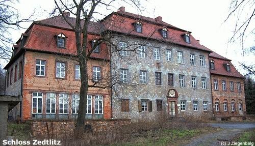 Borna: Schloss Zedtlitz
