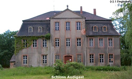 Groitzsch: Schloss Audigast