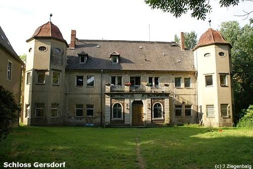 Markersdorf: Schloss Gersdorf