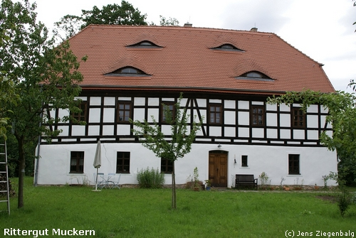 Großpösna: Rittergut Muckern