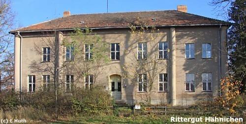 Hähnichen: Rittergut Hähnichen
