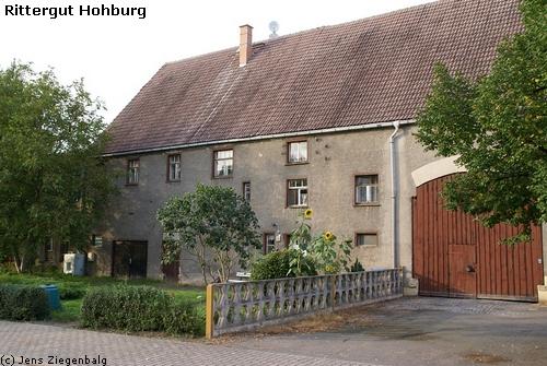 Lossatal: Rittergut Hohburg