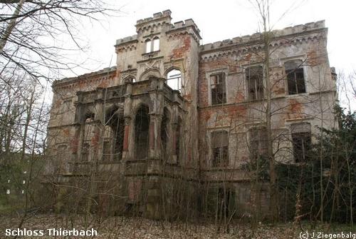 Kitzscher: Schloss Thierbach