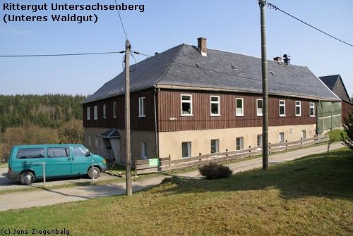 Klingenthal: Rittergut Untersachsenberg