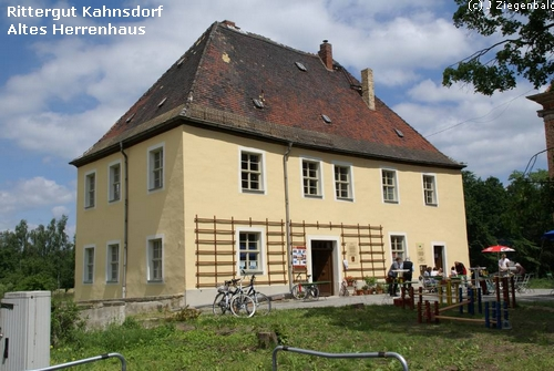Neukieritzsch: Rittergut Kahnsdorf