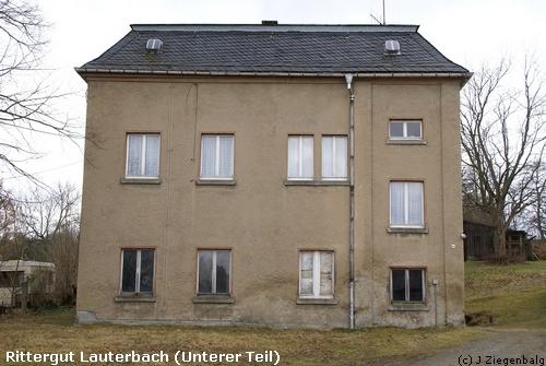 Oelsnitz: Rittergut Lauterbach Unterer Teil