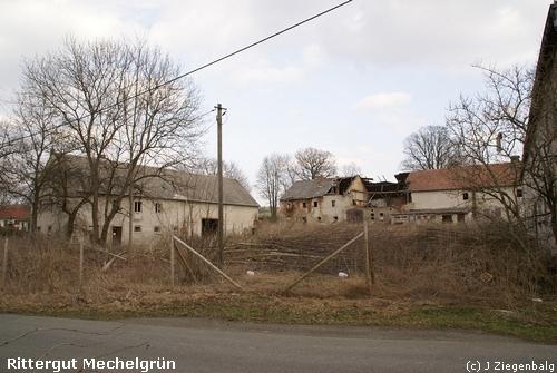 Neuensalz: Rittergut Mechelgrün