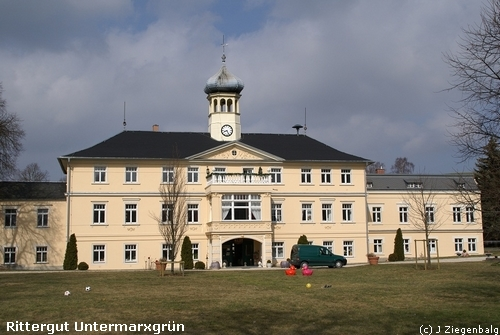 Oelsnitz: Rittergut Untermarxgrün